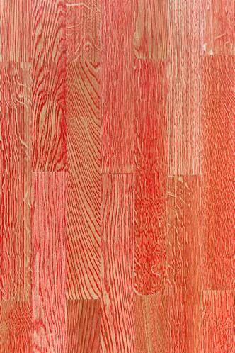 Parkiet Dwuwarstwowy Dąb Kolor Czerwony